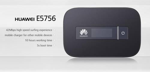 HUAWEI E5756 Mobile Broadband Wireless WIFI Hotspot Modem Router