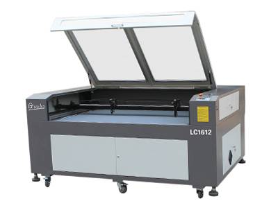 double heads fabric laser cutting machine (LC1612)