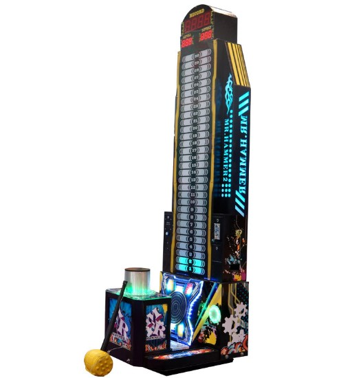 Coin Operated Hit MR Hammer Amusement Redemption Lottery Ticket Arcade Game Machines