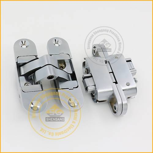 zamak concealed hinge for wood doors