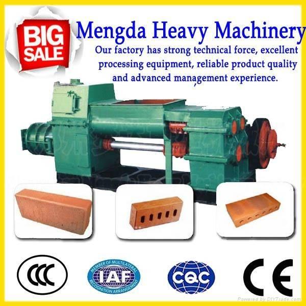 New design clay /soil  vacuum brick machine