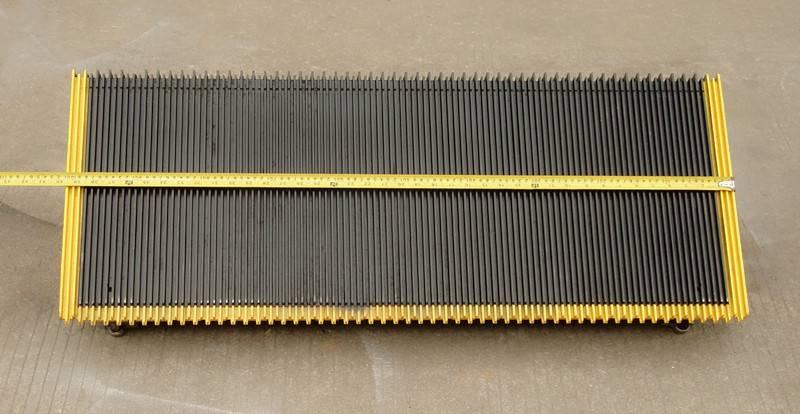Hyundai escalator step 30° width 1000mm aluminum
