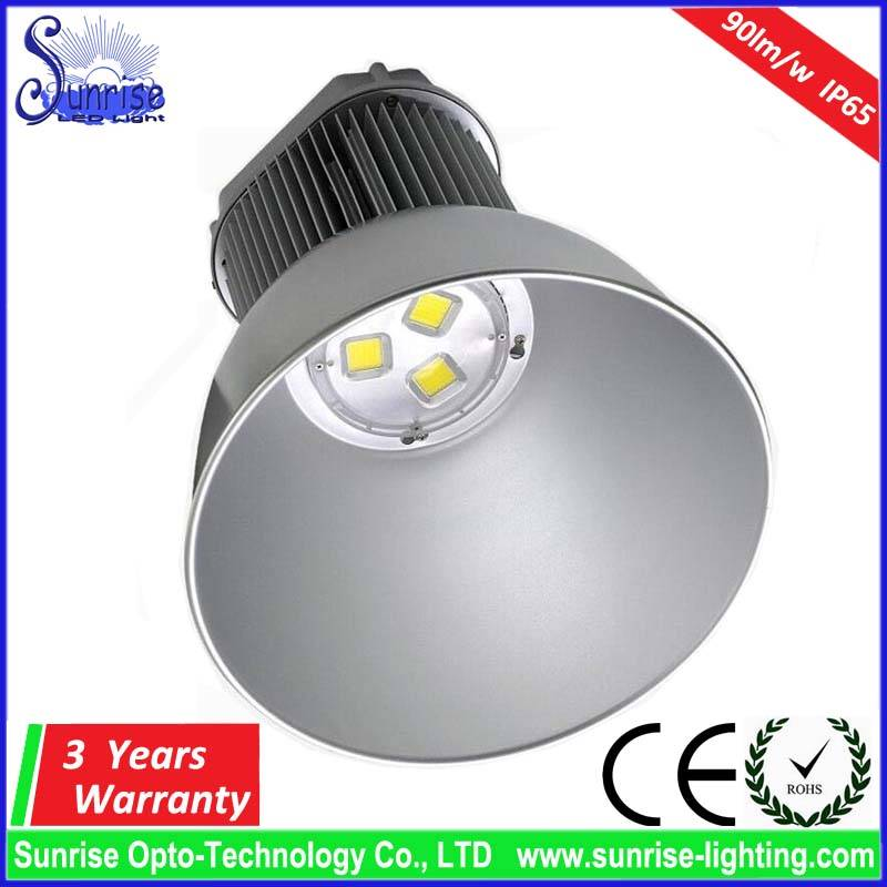 150W LED highbay light AC85-265V 90lm/w 3 years warranty