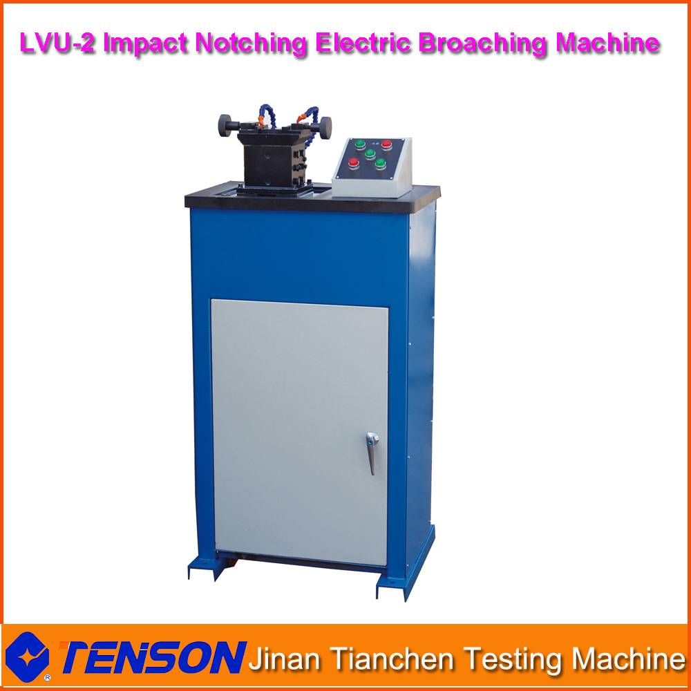 LVU-2 Metal Sample Electronic Broaching Machine U and V type