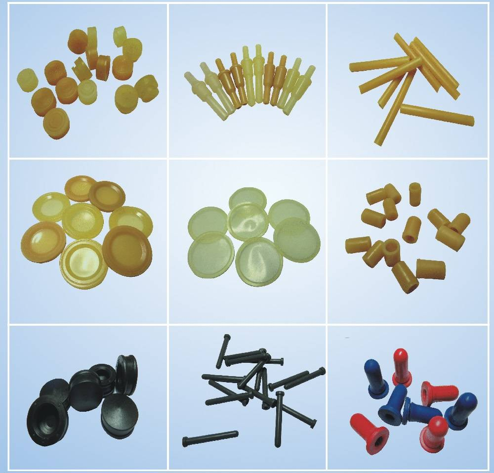 medical rubber components