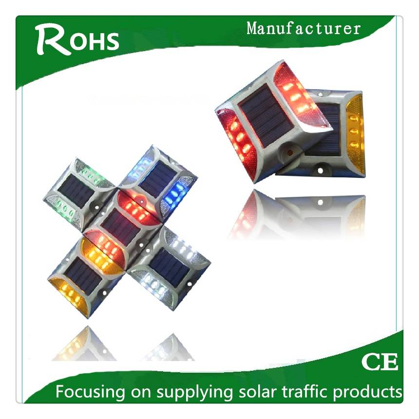 Supplying high quality with factory price solar road stud, road marker spike light