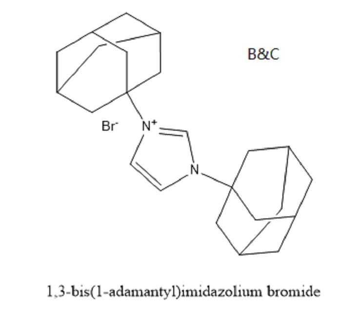1,3-bis(1-adamantyl)imidazolium bromide(cas 1134634-78-8)