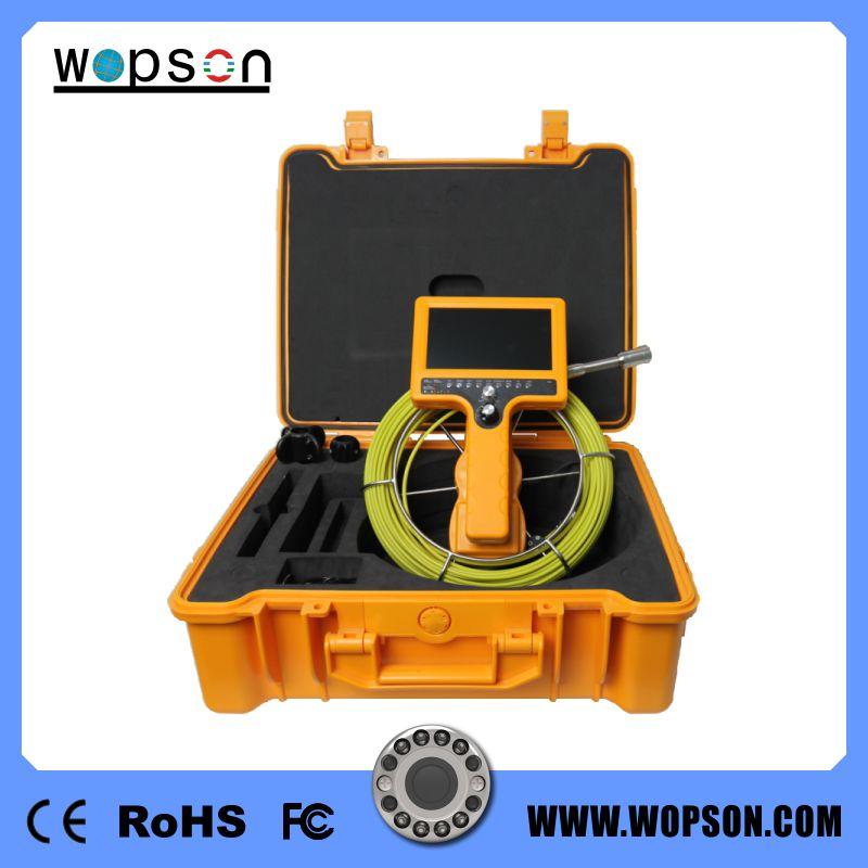 WOPSON sewer pipe inspection camera With waterproof underwater camera