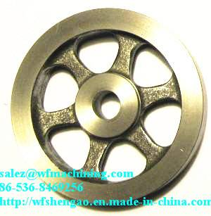 Customized Grey Iron Sand Casting Flywheel for Exercise Bike