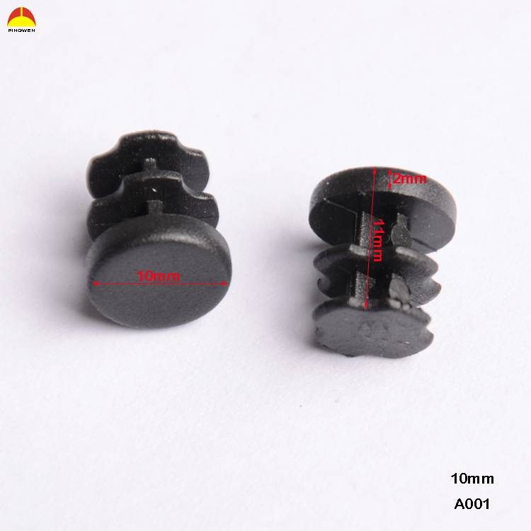Plastic end cap/pipe plug/tube plug for furniture