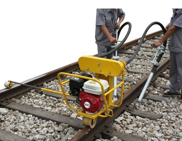 Soft Shaft Tamping Machine