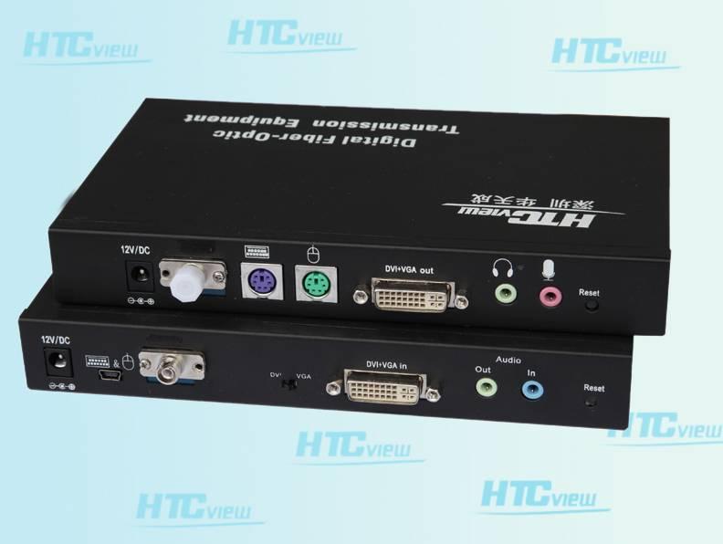 VGA/DVI Fiber Optic Transmission System