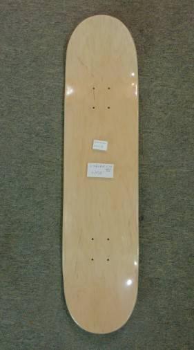 Custom graphic skateboard deck