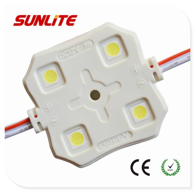 4-LED SMD5050 led module/ 12v injection led module/ 1w smd led module