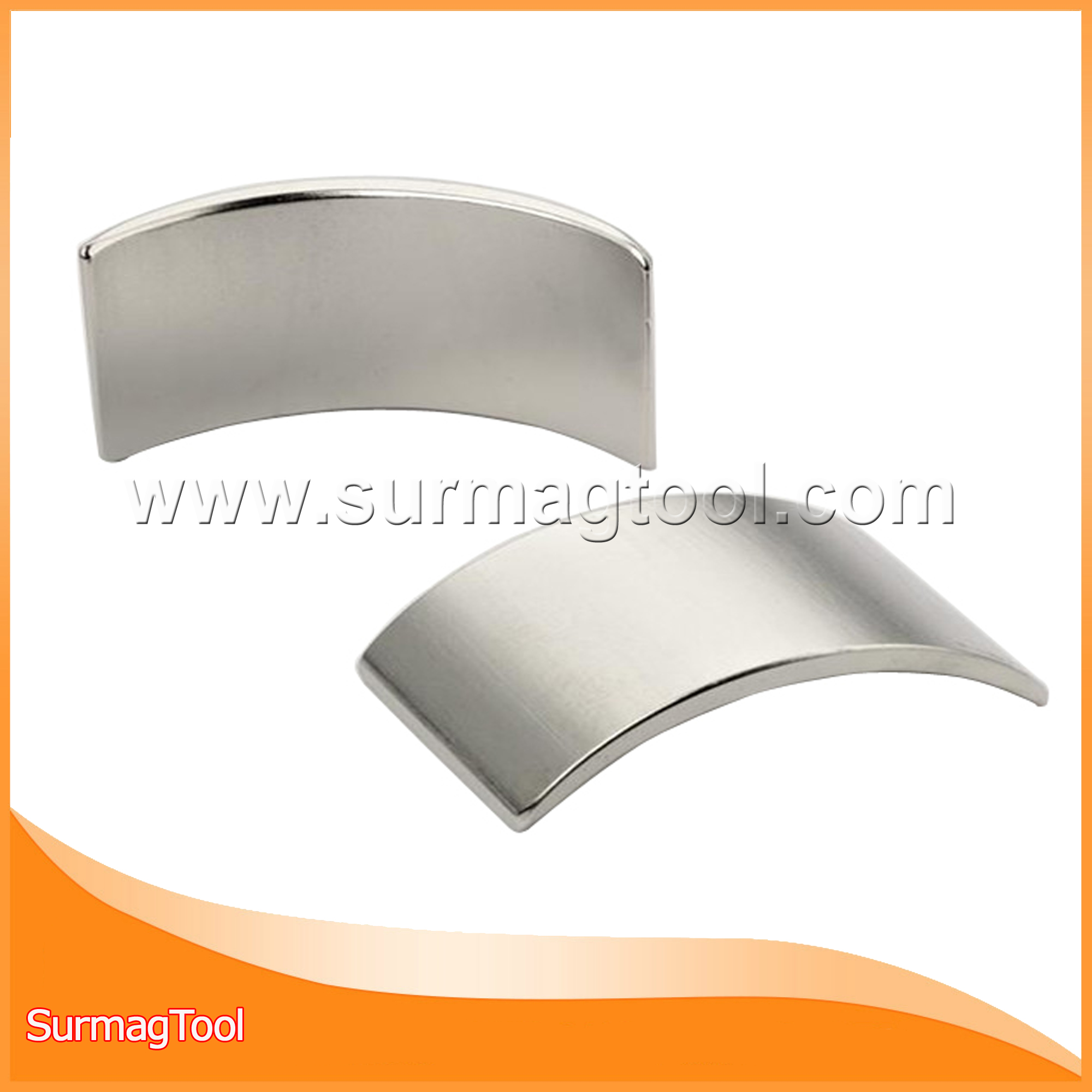 Arc permanent neodymium magnet for sale