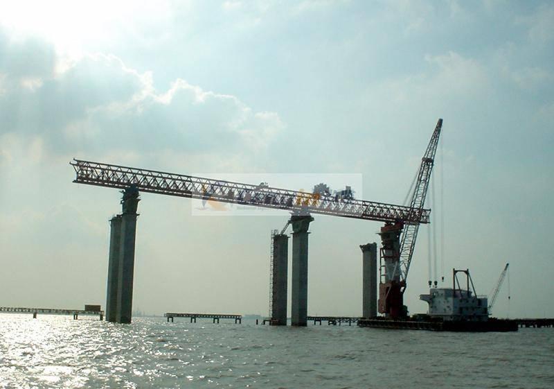 Precast Beams Launching Crane