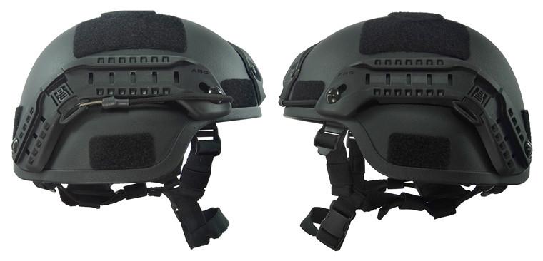 Kelin Kevlar Bullet Proof Helmet with NVG Mount Side Rail