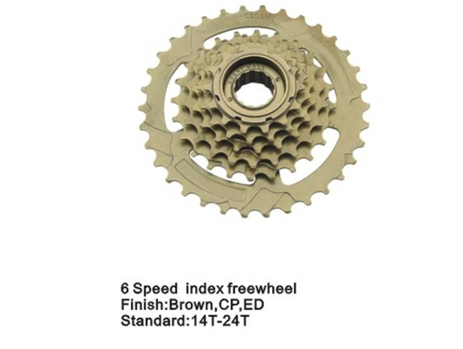 6s index bicycle freewheel  bicycle parts