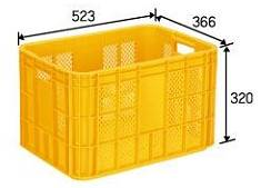 Plastic Crate (National Agricultural Products Containers)