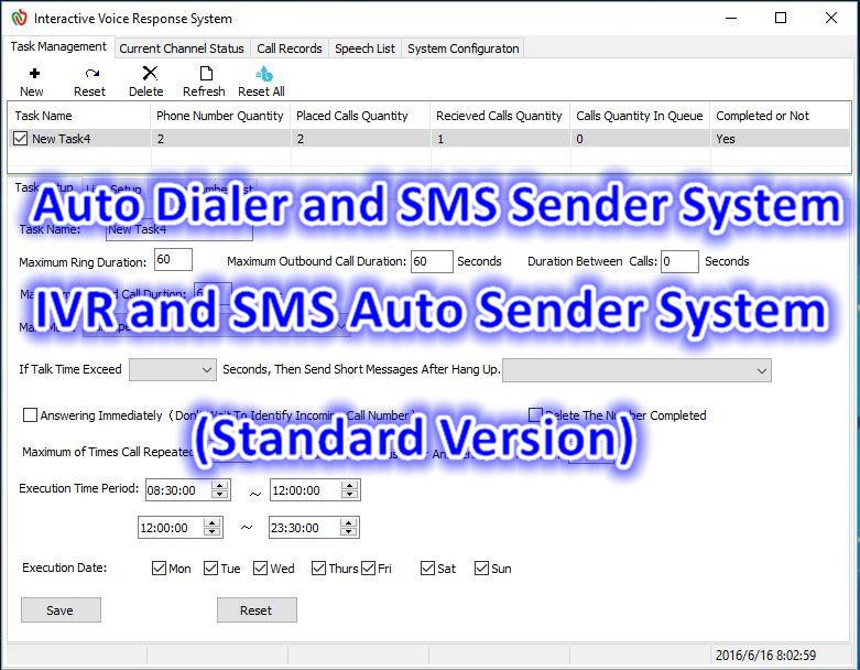 FreeCon/Auto Dialer and SMS Sender System (Professional Edition)