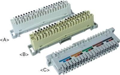 10 Pair LSA Disconnection Module