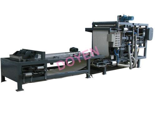 Separated belt filter press