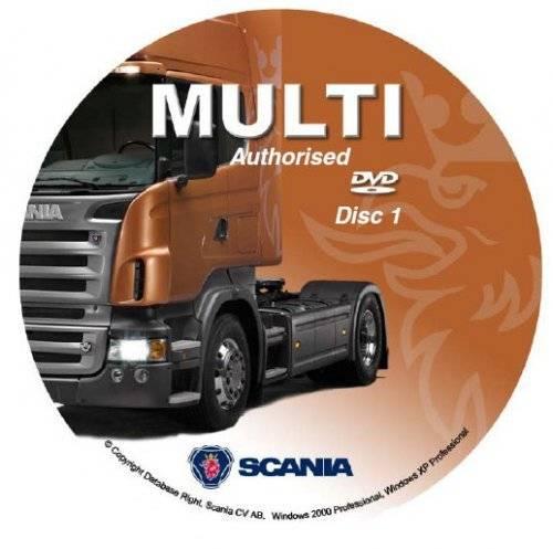 Scania Multi Spare Parts and Repair Catalog