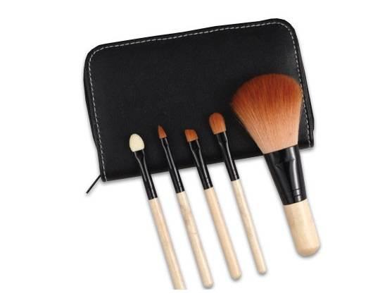 New Makeup Cosmetic Brush Kit 5 pcs Set Cosmetic Tool Eyebrow Lip Face
