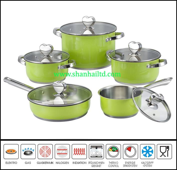 10Pcs hot new products for stainless cookware