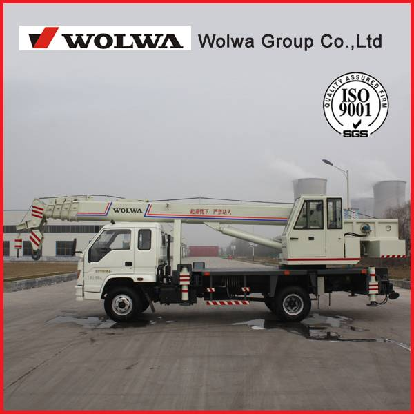 2014 Wolwa Brand New 8 Ton Hydraulic Mobile Truck Crane for Sale