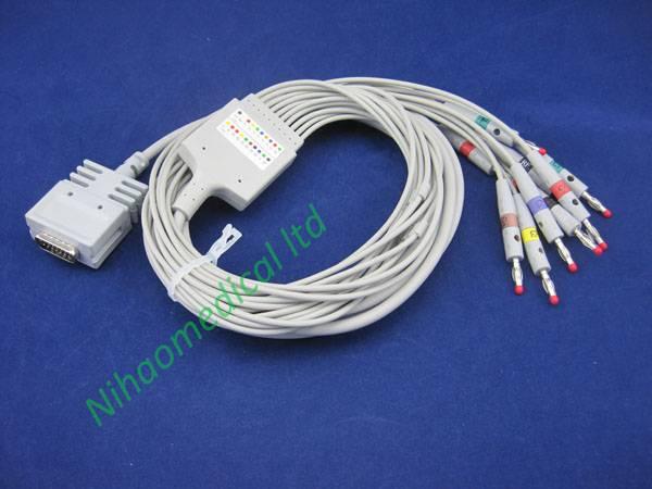 EKG59IOD Burdick  ecg cable