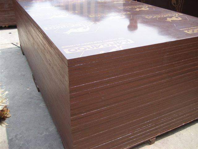 Brown film faced plywood, Kangaroo brand