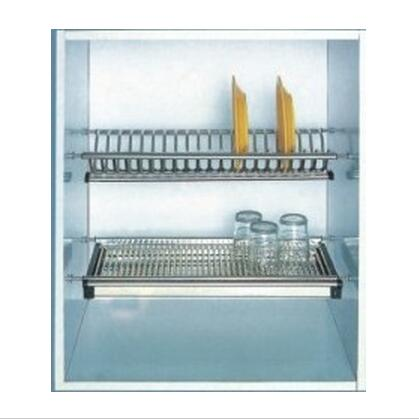 1305025 2-Tier SS Drainging Rack With Drip Tray