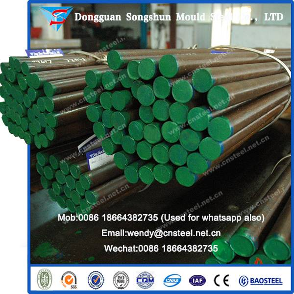52100/GCr15/En31 Bearing Steel Bar