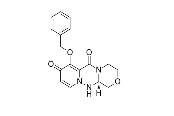 (R)-7-(benzyloxy)-3,4,12,12a-tetrahydro-1H- [1,4]oxazino[3,4-c]pyrido[2,1-f][1,2,4]triazine- 6,8-di