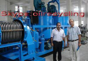 vacuum engine oil purifier,motor oil refinery machine