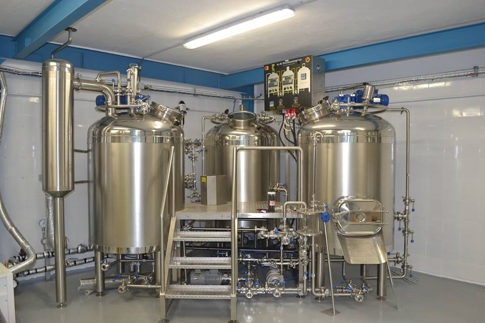 3BBL/5BBL micro brew equipment, brew pub beer equipment