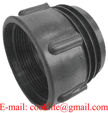 """PP IBC Tank Adapter/Fitting Connector 63mm Male to 2"""" BSP Female Plastic Drum Coupling"""
