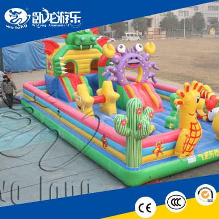 hot sale inflatable castle, outdoor air bouncer