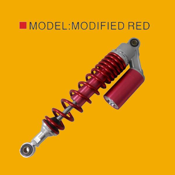 MODIFIED RED shock absorber,motorcycle shock absorber for bajaj