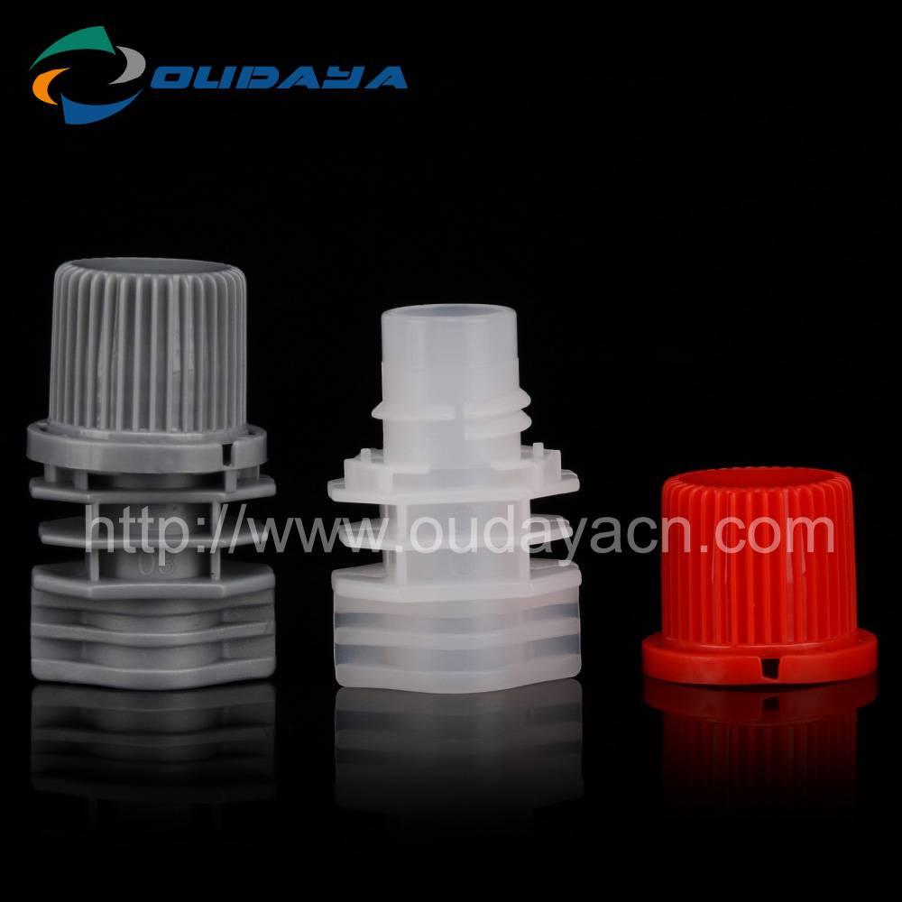 Colorful Plastic Spout Caps for Beverage Soft Pouch Bag or Bottle