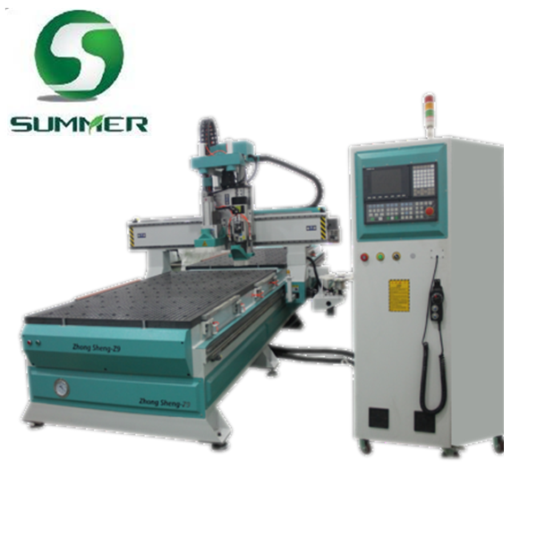 Zhongsheng Series ATC CNC Router with Boring Bits for Panel Furniture