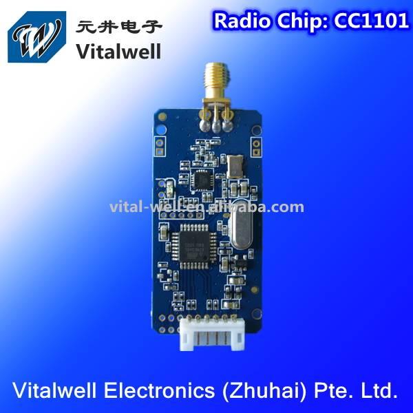 VW1101A Series Wireless Module|VW1101A 10mW 1200bps ~ 256kbps CC1101 232TTL UART RF Module