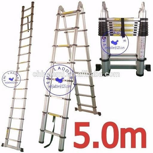 EMJ 5.0m joint telescopic ladder