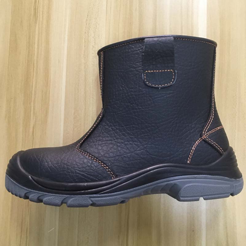 steel toe safety boots with PU sole