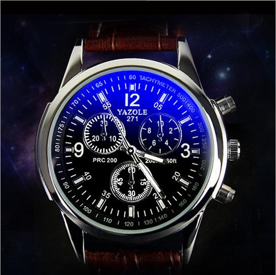 Fashion hotest waterproof mans business wrist watches