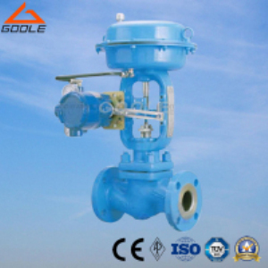 HLC Small Size Single Seat Pneumatic Pressure Cage Type Control Valve