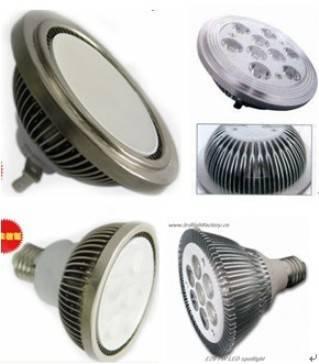 China AR111 LED spotlight