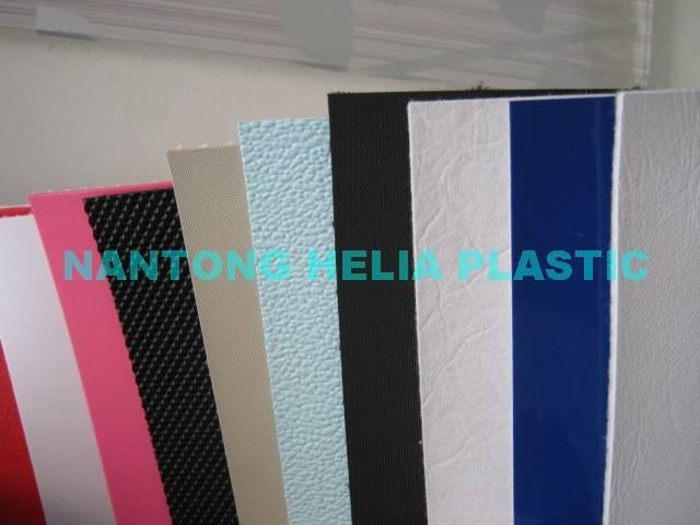PVC stock shoe leather