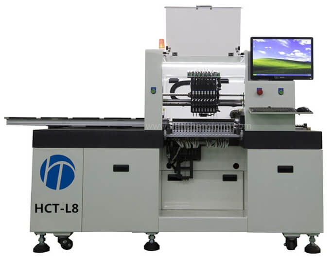 SMT Chip Mounter Pick And Place Machine for Copper LED String Lights